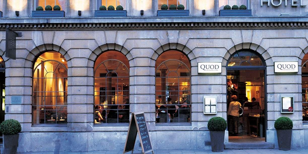 Quod Restaurant Amp Bar Oxfords Busiest City Centre Restaurant